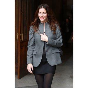 Stella McCartney 100% Wool Blazer Size 42 Grey